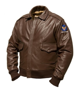 A-2 Intermediate Flying Jacket, Pferdeleder (L) -