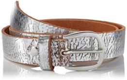 Amalo Accessories Damen Gürtel Kathy, Gr. 85 cm, Silber (Silber 2010) -