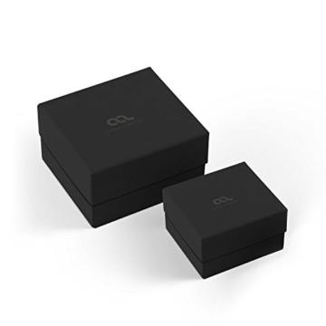 Autiga® Leder-Armband Anker-Armband aus geflochtenem Rindsleder schwarz Edelstahl Herren schwarz -