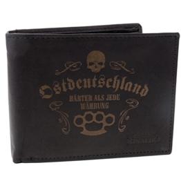 Brieftasche Ostdeutschland aus Rind Leder DDR geldbörse -