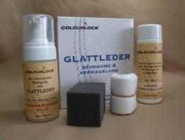 """COLOURLOCK Reinigungs- und Pflegeset Glattleder """"mild"""" mit Leder Versiegelung -"""