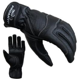 Damen Motorradhandschuhe von PROANTI Damen Leder Motorrad Handschuhe Gr. S-L -