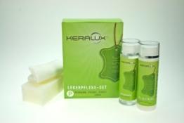 KERALUX Lederpflege-Set P für pigmentierte Leder, 2 x 200 ml Inhalt -