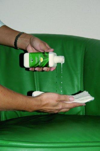 KERALUX Lederpflegeset mit Lichtschutz, je 150 ml Reiniger und Pflegecreme -