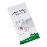 LeTec® Flüssigleder 7 ml passend für Ewald Schillig Leder L140 Fb. 18 creme, beseitigt Risse oder Löcher im Leder -
