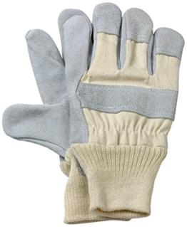 Max-Power 9425820 Schutzhandschuhe für die Arbeit, aus Schweinsleder -