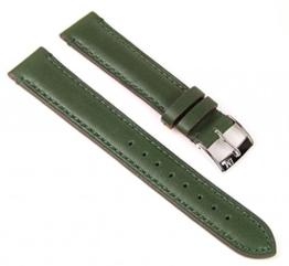 Morellato Ligabue Agnello Ersatzband Uhrarmband Lammleder Band Dunkelgrün 18mm -
