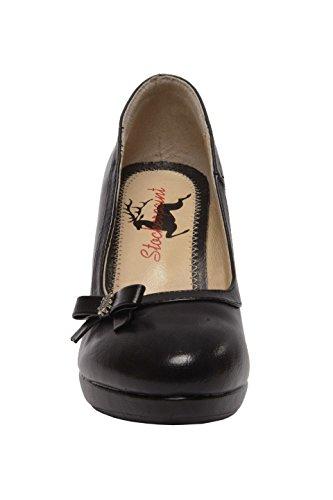 STOCKERPOINT - Damen Trachten Schuhe in Schwarz, 6070, Farbe:Schwarz;Größe:39 -