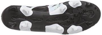 adidas Herren X 15.1 Fg/Ag Leather Fußballschuhe, Schwarz (Core Black/Shock Mint S16/Ftwr White), 44 EU -