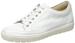 Caprice 23655, Damen Low-Top Sneaker, Weiß (WHITE DEER), 38.5 EU -