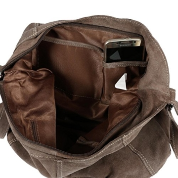 Christian Wippermann Luxus Beuteltasche Damentasche aus butterweichem Wildleder in verschieden Farben Taupe -