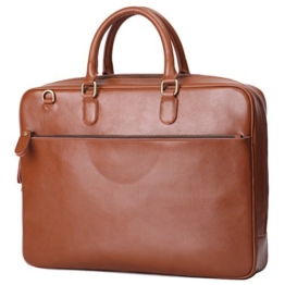 Leathario Herren Ledertasche Umhängetasche Handtasche Schultertasche Aktentasche Laptoptasche Schultasche Dokumententasche Businesstasche Messenger Bag -