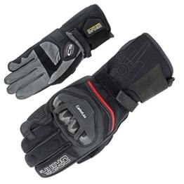 Orina Motorradhandschuhe Kevlar Pro - Premium Herren Sommer Handschuhe mit Känguruleder und - Carbolex Protektoren für maximale Sicherheit - Racing Rennsport (11) -