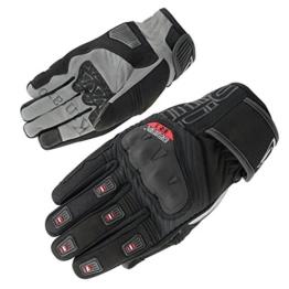 Orina Motorradhandschuhe Sommer Känguruleder kurze Stulpe R1-Knöchelprotektor (9) -