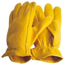 Premium Hirschleder Handschuhe Reithandschuhe Western Cowboy (M = 9) -