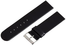 Pure Grey Unisexarmband Basel 55G, Kalblederband 22 mm, Unterseite auch Kalbleder Nubuk daher antiallergisch -